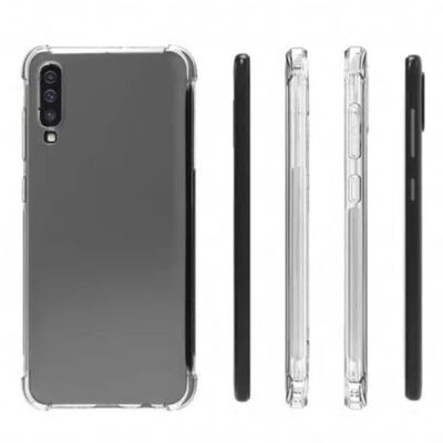 Samsung A70 Stötdämpande Silikon Skal Shockr® (SM-705F/DS)