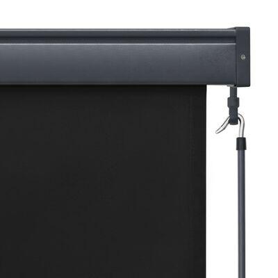 vidaXL Rullgardin utomhus 60x250 cm antracit