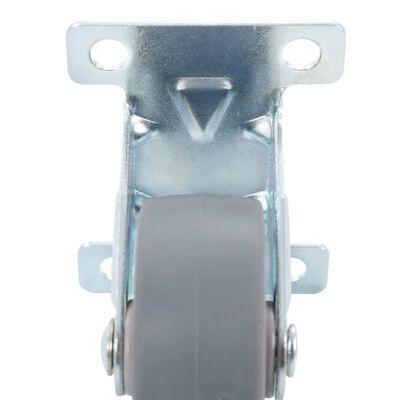 vidaXL Fasta hjul 32 st 50 mm