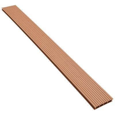vidaXL WPC golvplattor med tillbehör 30 m² 2,2 m brun