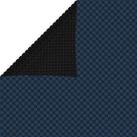 vidaXL Värmeduk för pool PE 800x500 cm svart och blå