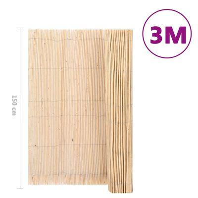 vidaXL Pilstaket 3x1,5 m