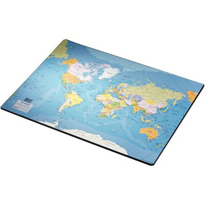 Esselte Skrivunderlägg Europost världskarta 40x53cm