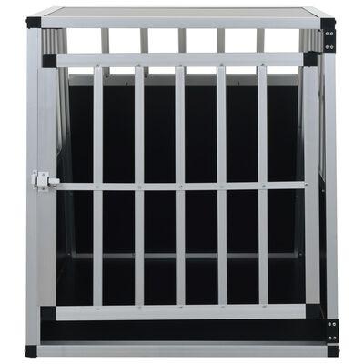 vidaXL Hundbur med enkel dörr 65x91x69,5 cm