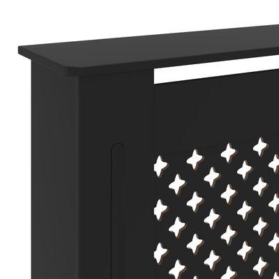 vidaXL Elementskydd MDF svart 205 cm
