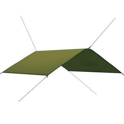 vidaXL Tarp 4x4 m grön