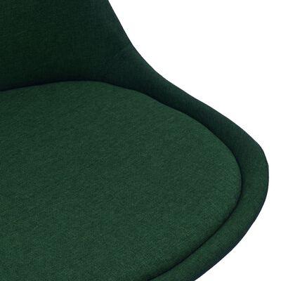 vidaXL Matgrupp 3 delar mörkgrön
