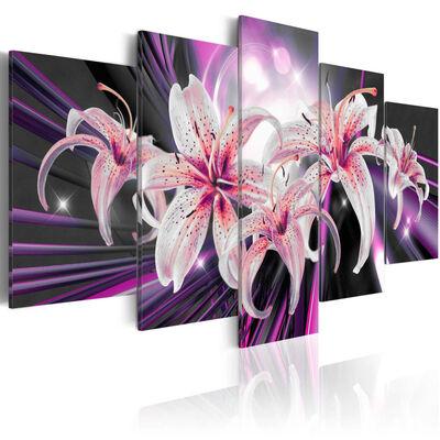 Tavla - Violet Inspiration - 200x100 Cm