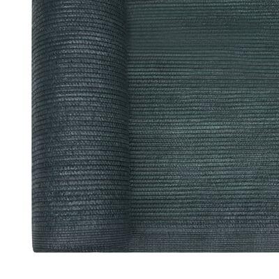 vidaXL Insynsskyddsnät HDPE grön 2x50 m
