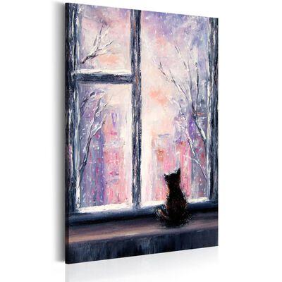 Tavla - Cat's Stories - 60x90 Cm