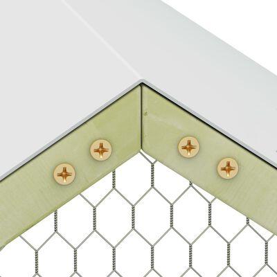 vidaXL Hönsbur 1,5x1,5x2 m impregnerad furu
