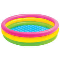 Intex Uppblåsbar pool Sunset 3 ringar 147x33 cm