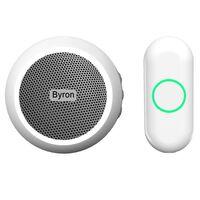 Byron Trådlös dörrklocka plug-in vit