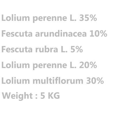 vidaXL Gräsfrön för sport och lek 5 kg