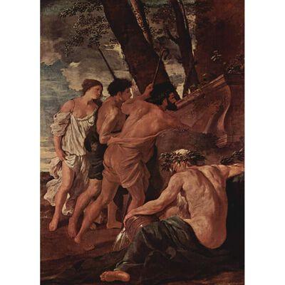 Eats in Arcadia ego,Nicolas Poussin,50x36cm,
