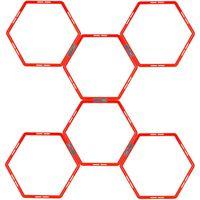 Pure2Improve Träningsringar 6 delar hexagon