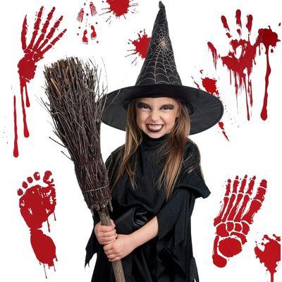 Halloween klistermärken / fönsterdekaler 4 ark