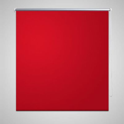 Rullgardin röd 80 x 230 cm mörkläggande