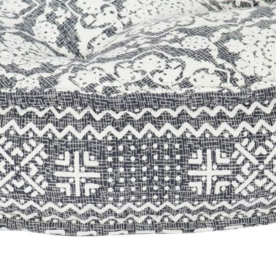 vidaXL Soffa 100x20 cm tyg ljusgrå