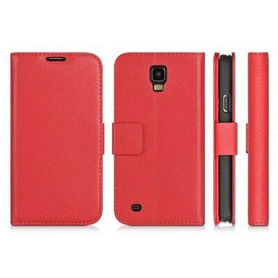 Mobilplånbok 2-kort Samsung Galaxy S4 (GT-i9500) Röd