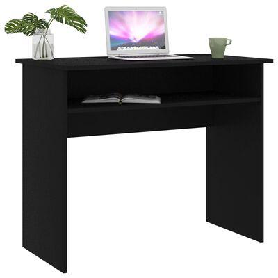 vidaXL Skrivbord skrivbord 90x50x74 cm spånskiva