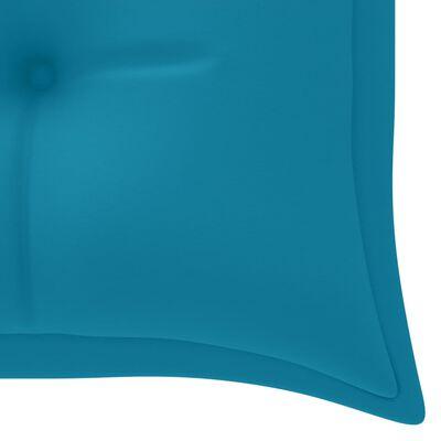 vidaXL Hammockdyna ljusblå 150 cm tyg