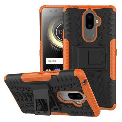 Stöttåligt skal med ställ Lenovo K8 Note Orange