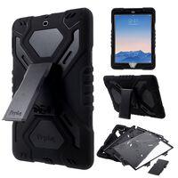 "PEPKOO iPad 9.7"" (2017) Extreme Armor Case - Svart"