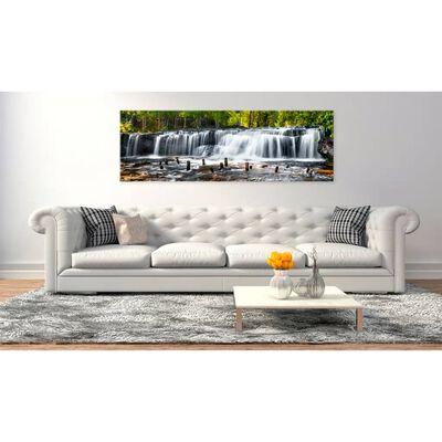 Tavla - Fairytale Waterfall  - 135x45 Cm,