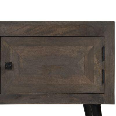 vidaXL TV-bänk massivt mangoträ 140x30x45 cm