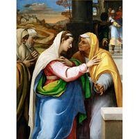 La Visitation,Sebastiano del Piombo,50x40cm