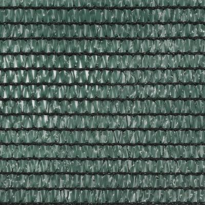 vidaXL Vindskydd för tennisplan HDPE 1,8x50 m grön