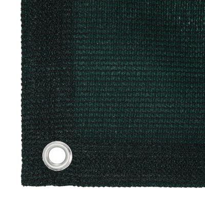 vidaXL Tältmatta 250x400 cm HDPE grön