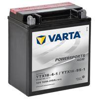 Varta AGM Batteri 12 V 14 Ah YTX16-4-1 / YTX16-BS-1