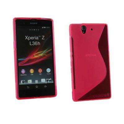 S Line silikon skal Sony Xperia Z (c6603) Rosa