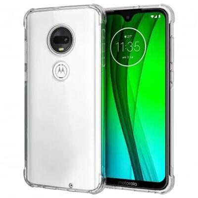 Motorola Moto G7 Plus Stötdämpande Silikon Skal Shockr®