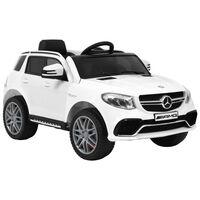 vidaXL Barnbil Mercedes Benz GLE63S plast vit