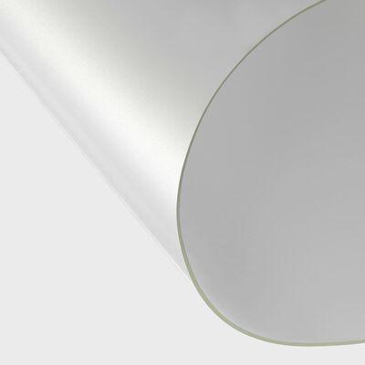 vidaXL Bordsskydd matt 100x60 cm 2 mm PVC