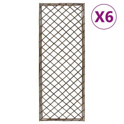 vidaXL Spaljéer 6 st 30x170 cm pil