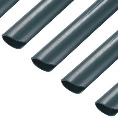 vidaXL Klämmor för insynsskydd 100 st PVC grön