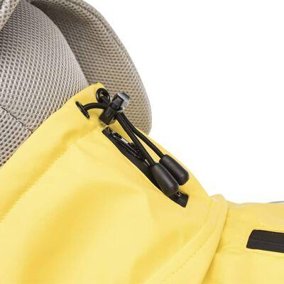 TRIXIE Regnjacka för hund Vimy M 50 cm gul