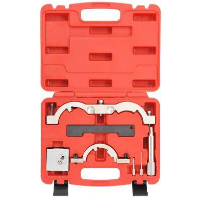 vidaXL Motorinställningsverktyg 7 delar