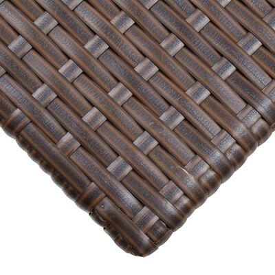 vidaXL Soffbord brun 70x40x38 cm konstrotting