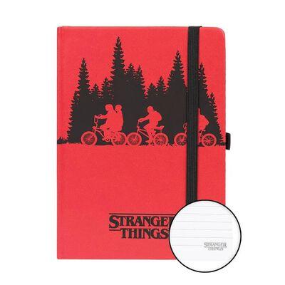 Stranger Things, Anteckningsbok - Upside Down