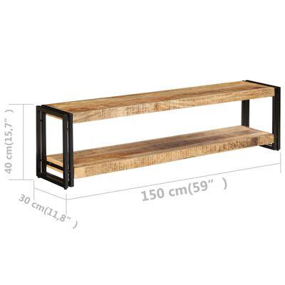vidaXL TV-bänk 150x30x40 cm massivt mangoträ