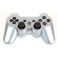 Trådlös Handkontroll Till Ps3 Med Bluetooth & Doubleshock 3, Silver
