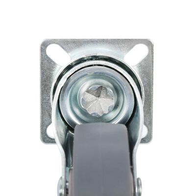 vidaXL Länkhjul 144 st 50 mm
