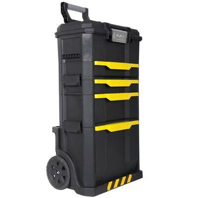 Stanley Rullande Verktygsvagn Plast Svart 1-79-206