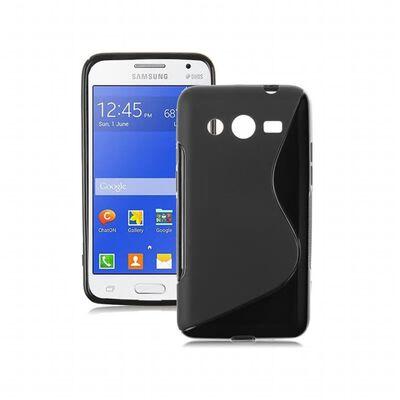 S Line silikon skal Samsung Galaxy Core Prime (SM-G360F) Svart