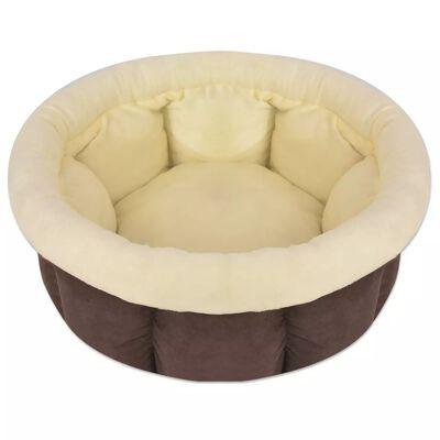 vidaXL Hundbädd storlek L brun